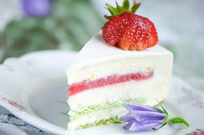 香草慕斯蛋糕